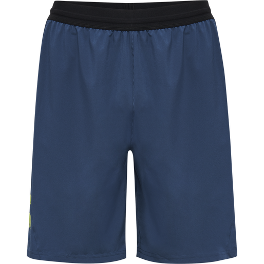 hmlLEAD PRO TRAINING SHORTS, DARK DENIM, packshot