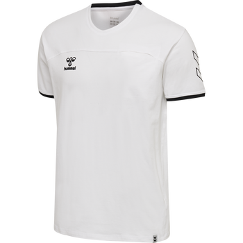 hmlCIMA T-SHIRT, WHITE, packshot