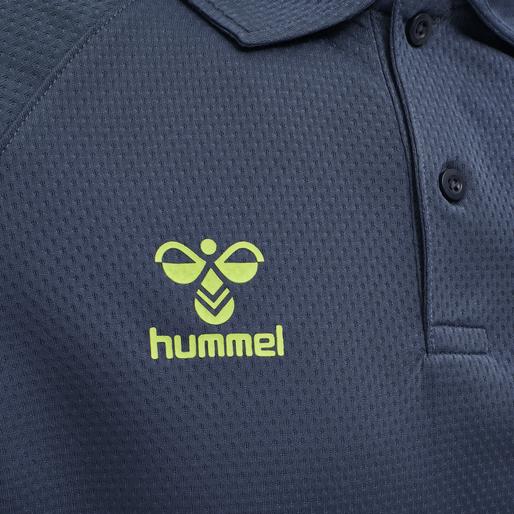 hmlLEAD FUNCTIONAL POLO, DARK DENIM, packshot