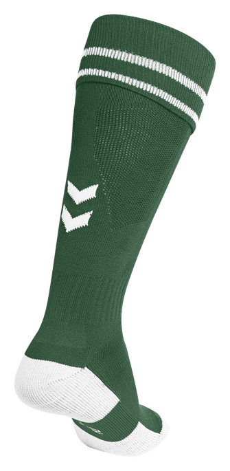ELEMENT FOOTBALL SOCK , EVERGREEN/WHITE, packshot