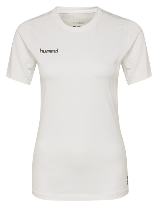 HUMMEL FIRST PERFORMANCE WOMEN JERSEY S/S, WHITE, packshot