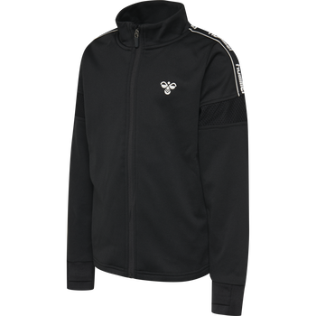 hmlASK ZIP JACKET, BLACK, packshot