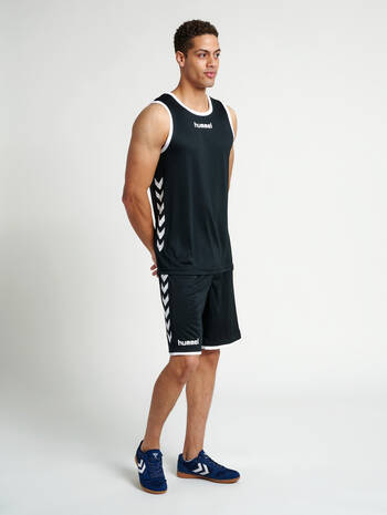CORE BASKET JERSEY, BLACK, model