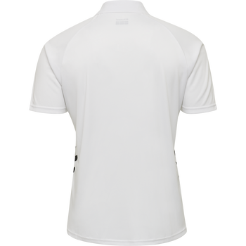 hmlPROMO POLO, WHITE, packshot