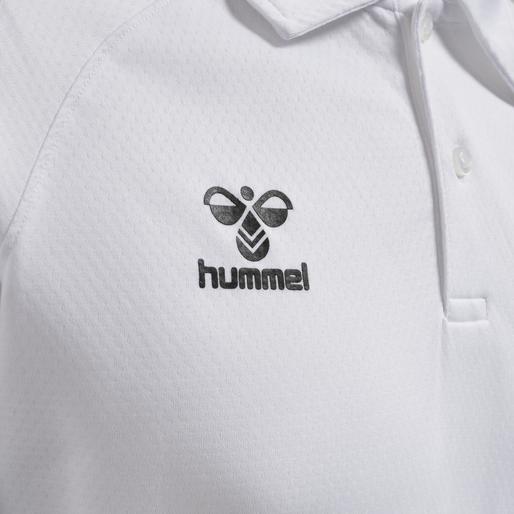 hmlLEAD FUNCTIONAL POLO, WHITE, packshot