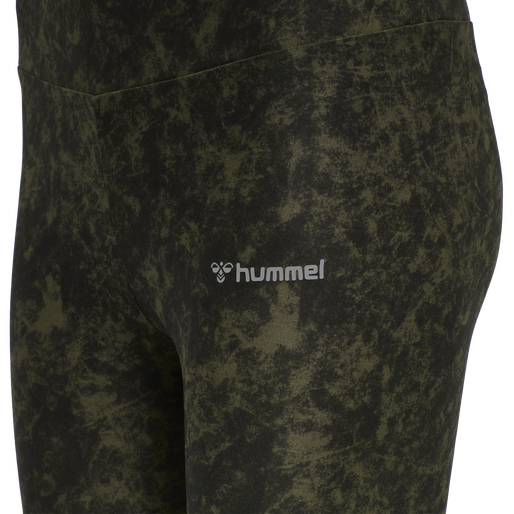 HMLCINDI TIGHTS, FOREST NIGHT, packshot