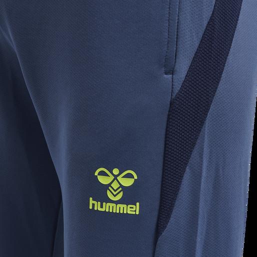 hmlLEAD FOOTBALL PANTS, DARK DENIM, packshot