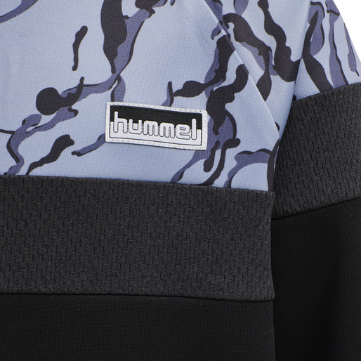 hmlNILAR SWEATSHIRT, BLACK, packshot