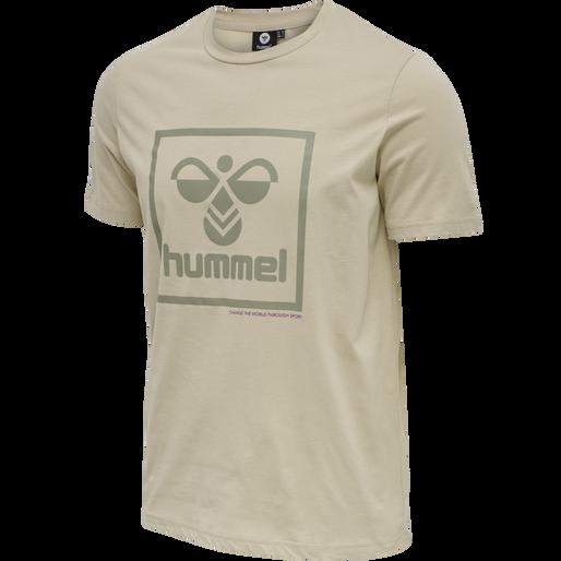 hmlISAM T-SHIRT, HUMUS, packshot