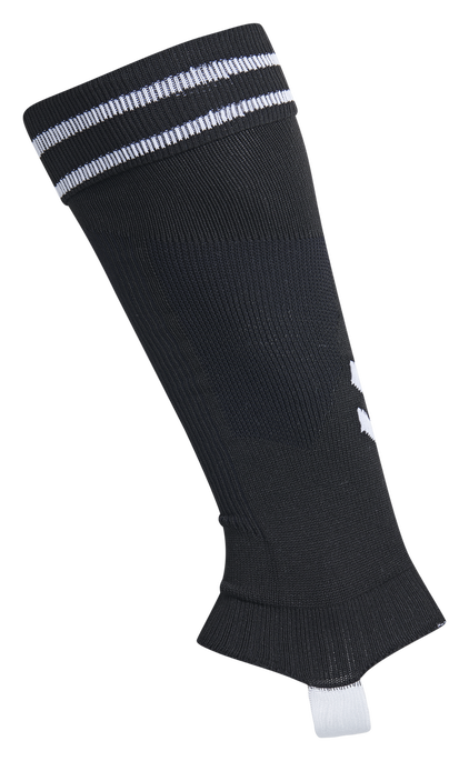 ELEMENT FOOTBALL SOCK FOOTLESS, BLACK/WHITE, packshot