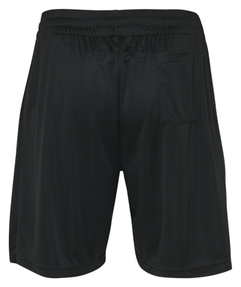 HMLREFEREE POLY SHORTS, BLACK, packshot