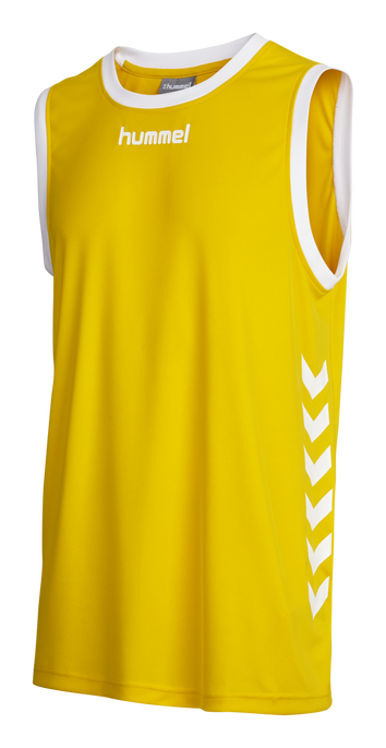CORE BASKET JERSEY, SPORTS YELLOW, packshot