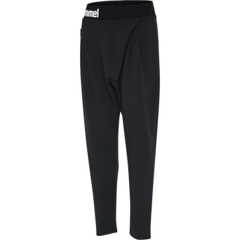 hmlMYNTE PANTS, BLACK, packshot