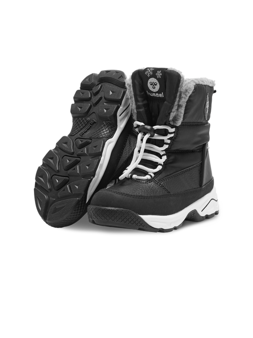 SNOW BOOT LOW JR, BLACK, packshot