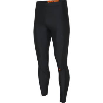 HUMMEL FIRST COMPRESSION LONG TIGHTS, BLACK, packshot