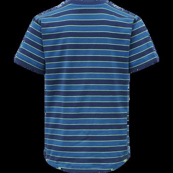 hmlCRUSH T-SHIRT S/S, ESTATE BLUE, packshot