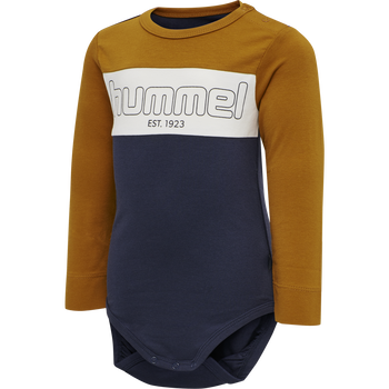 hmlNORTH BODY L/S, PUMPKIN SPICE, packshot
