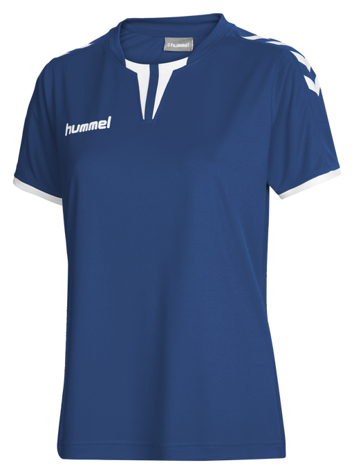 CORE WOMENS SS JERSEY, TRUE BLUE PR, packshot