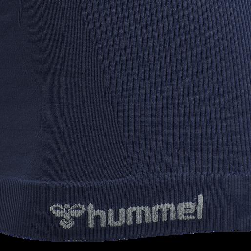 hmlTIF SEAMLESS TOP, BLACK IRIS, packshot