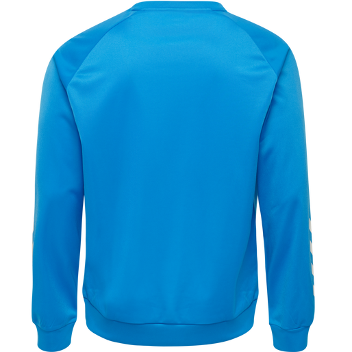 hmlPROMO KIDS POLY SWEATSHIRT, DIVA BLUE, packshot