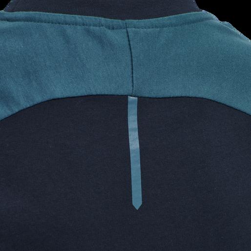 hmlACTION COTTON T-SHIRT KIDS, DARK SAPPHIRE/BLUE CORAL, packshot