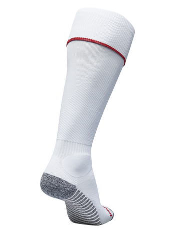 PRO FOOTBALL SOCK, WHITE/TRUE RED, packshot