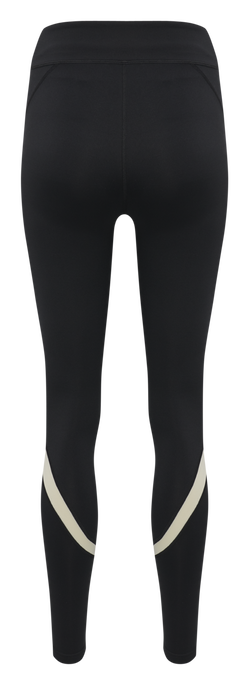 hmlALTHEA HIGH WAIST TIGHTS, BLACK, packshot