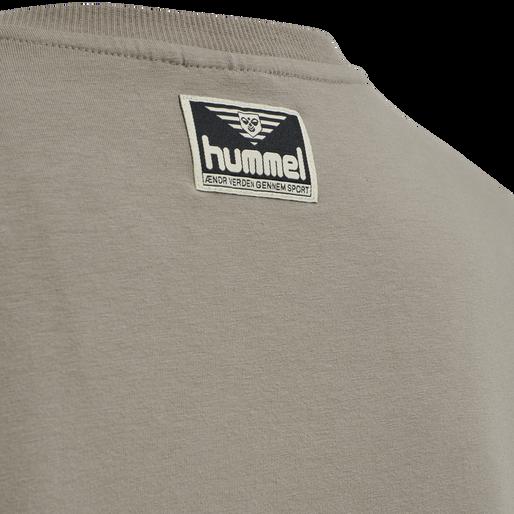 hmlZONE T-SHIRT L/S, DRIFTWOOD, packshot