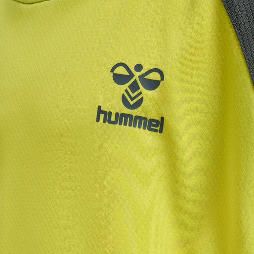 hmlACTION JERSEY S/S KIDS, SULPHUR SPRING/TURBULENCE, packshot