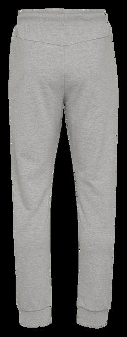 hmlISAM REGULAR PANTS, GREY MELANGE, packshot