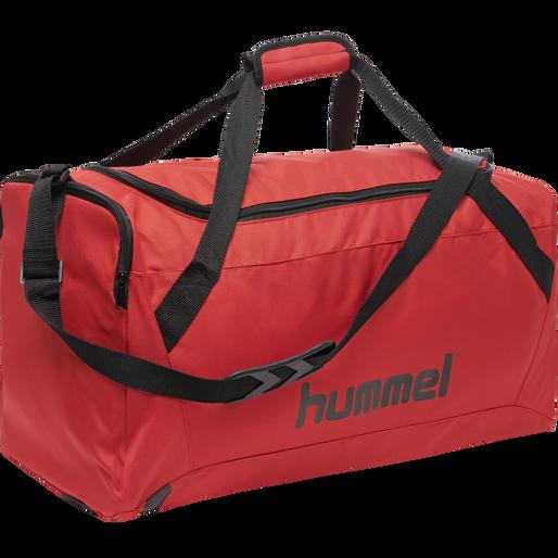 CORE SPORTS BAG, TRUE RED/BLACK, packshot