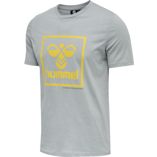 hmlISAM T-SHIRT, QUARRY, packshot