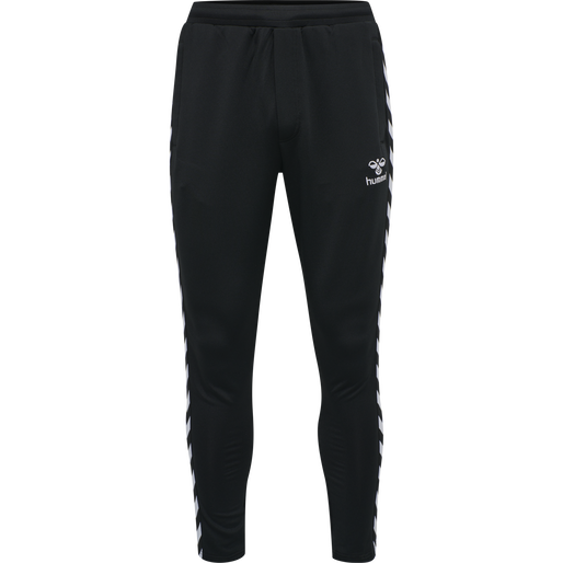hmlNATHAN 2.0 TAPERED PANTS, BLACK, packshot