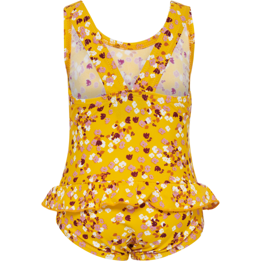 hmlFILIPPA SWIMSUIT, GOLDEN ROD, packshot