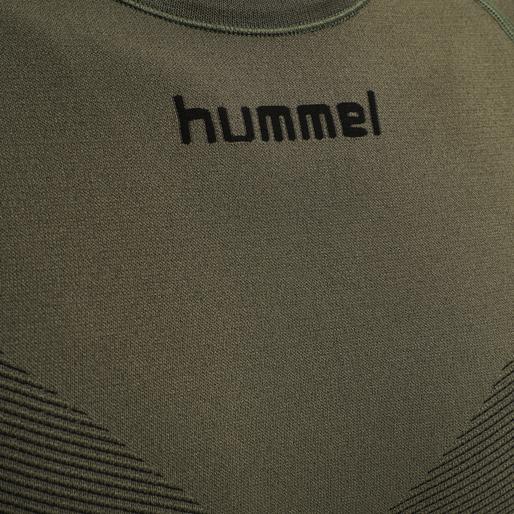 HUMMEL FIRST SEAMLESS JERSEY S/S , GRAPE LEAF, packshot