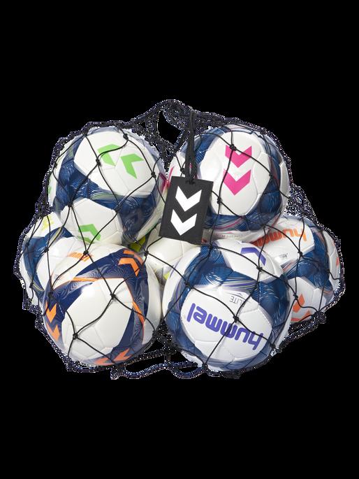 HUMMEL BALL NET, BLACK/SILVER, packshot