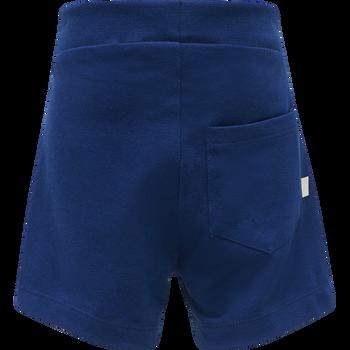hmlALFRED SHORTS, ESTATE BLUE, packshot