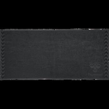 HUMMEL LARGE TOWEL, ASPHALT, packshot
