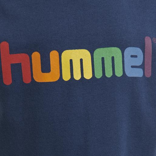 hmlSKY T-SHIRT S/S, ENSIGN BLUE, packshot