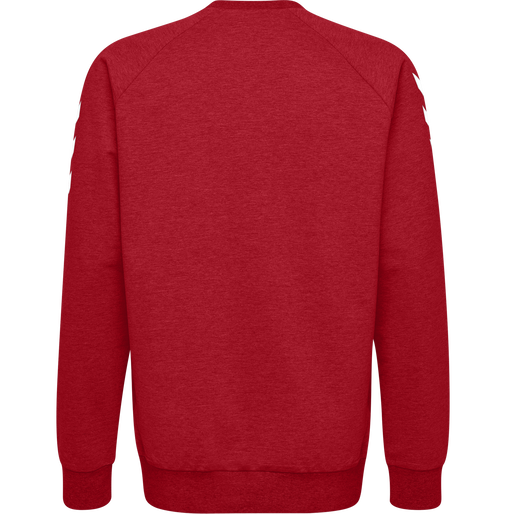 HUMMEL GO KIDS COTTON SWEATSHIRT, TRUE RED, packshot