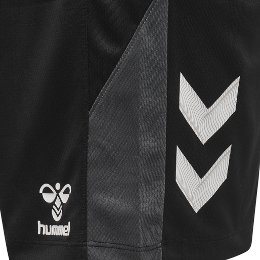 hmlLEAD TRAINER SHORTS, BLACK, packshot