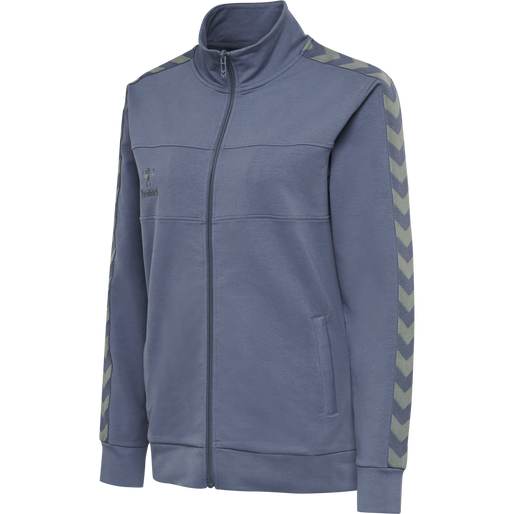 hmlMOVE CLASSIC ZIP JACKET WOMAN, BERING SEA, packshot
