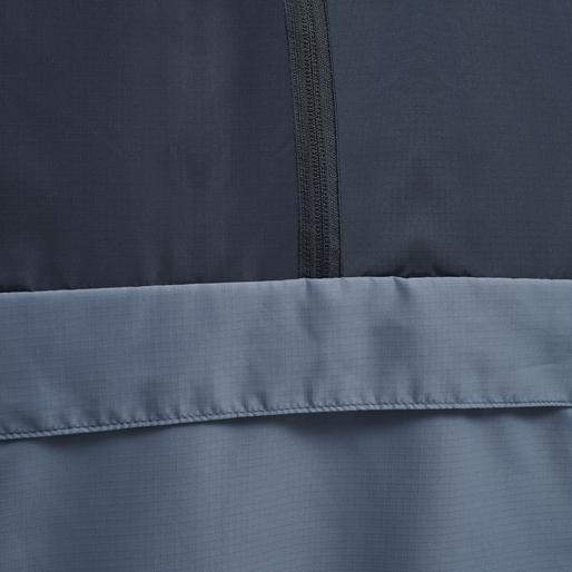 hmlALVIN HALF ZIP JACKET, CHINA BLUE, packshot