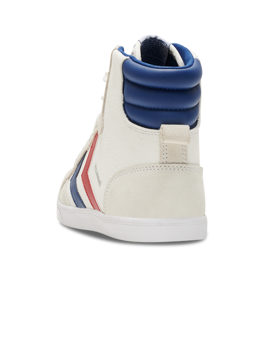 HUMMEL SLIMMER STADIL HIGH, WHITE/BLUE/RED/GUM, packshot
