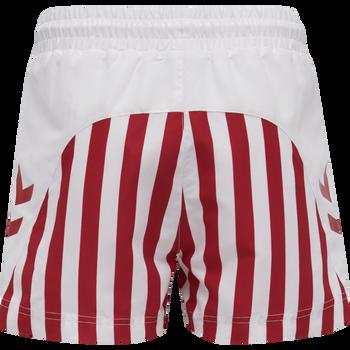 DBU FAN 2020 SWIM SHORTS KIDS, TANGO RED/WHITE, packshot