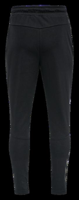 hmlISAM TAPERED PANTS, BLACK, packshot