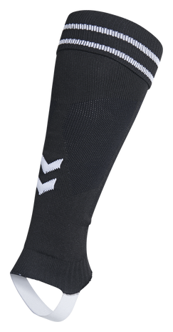 ELEMENT FOOTBALL SOCK FOOTLESS, BLACK/WHITE, packshot