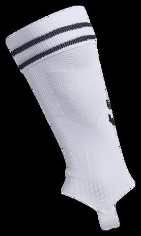 ELEMENT FOOTBALL SOCK FOOTLESS, WHITE/BLACK, packshot