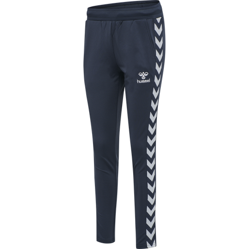hmlNELLY 2.0 TAPERED PANTS, BLUE NIGHTS, packshot
