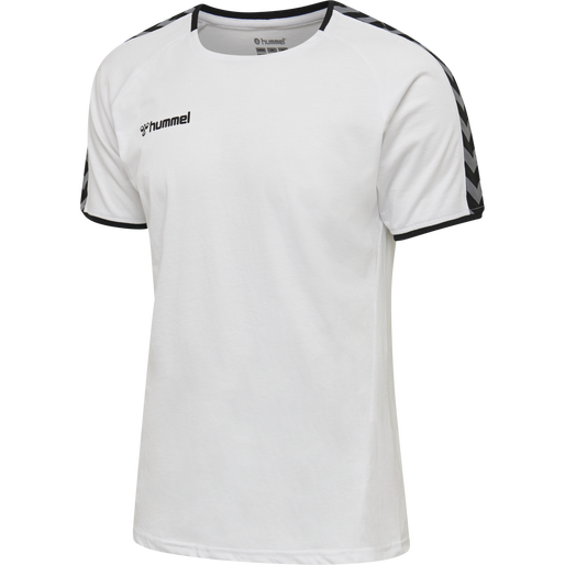 hmlAUTHENTIC TRAINING TEE, WHITE, packshot